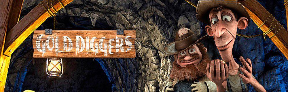 Играть онлайн Gold Diggers в клубе Вулкан